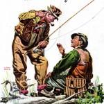Pêche Pub contact - Insurance Company of North America - 1945