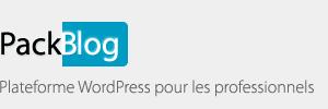 PackBlog : Plateforme Wordpress pour les professionnels