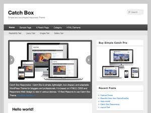 PackBlog thème Catch Box