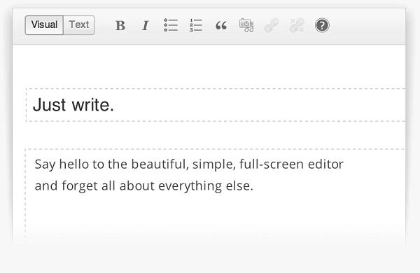 Pack Blog WordPress version 3.6