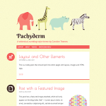 PackBlog thème Pachyderm