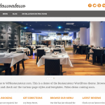 PackBlog thème Restaurateur