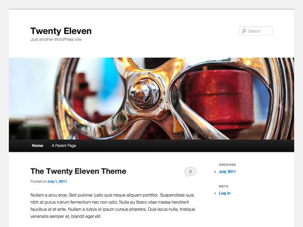 PackBlog thème Twenty Eleven